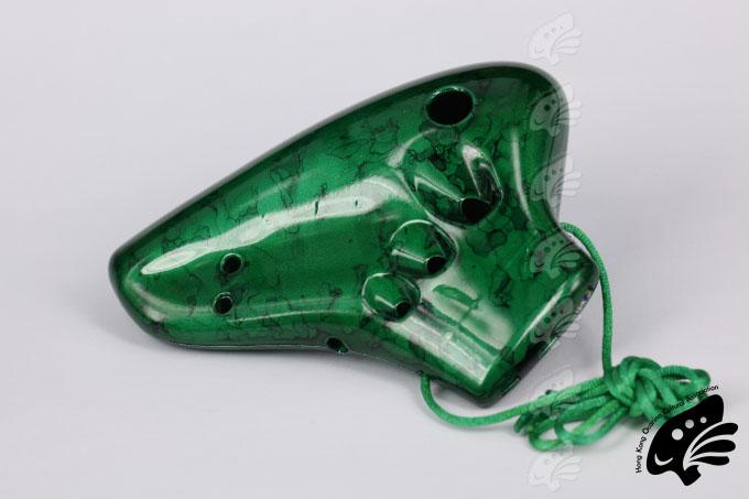 TNG陶笛之家三管中音C塑膠(綠色)(背)